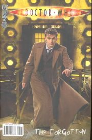 Doctor Who The Forgotten #5 Retail Incentive Variant (2008) Dr David Tennant IDW Publishing comic book